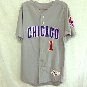 Button Up Baseball Jersey, Chicago Cubs